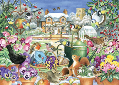 Winter Garden - 1000pc Jigsaw Puzzle By Falcon