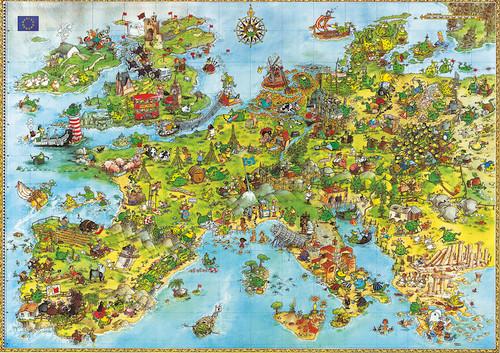 Degano: United Dragons of Europe - 4000pc Jigsaw Puzzle By Heye