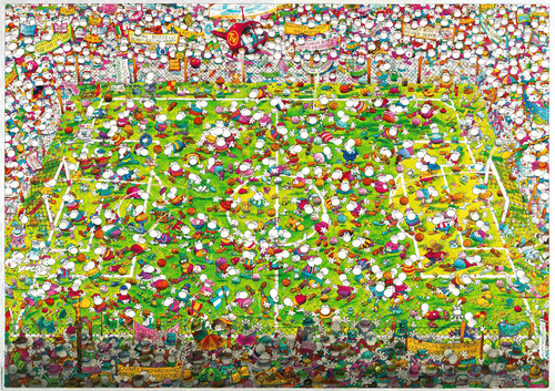 Mordillo: Crazy World Cup - 4000pc Jigsaw Puzzle By Heye