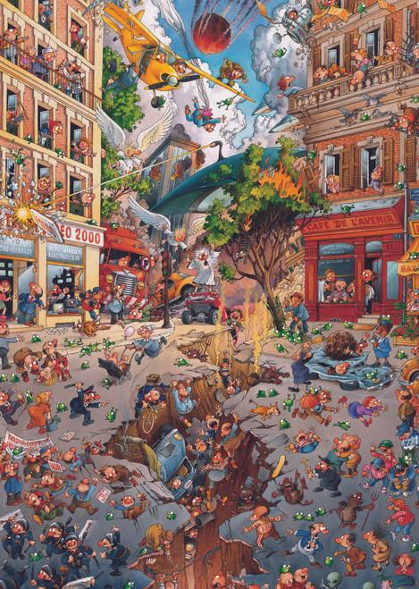 Loup: Apocalypse - 2000pc Jigsaw Puzzle By Heye