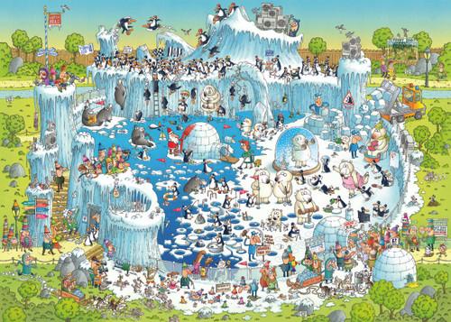 Polar Habitat - 1000pc Jigsaw Puzzle By Heye