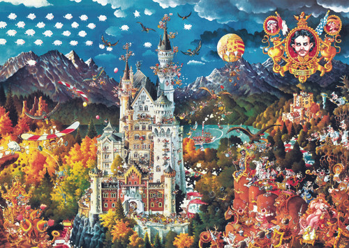 Ryba: Bavaria - 2000pc Jigsaw Puzzle By Heye