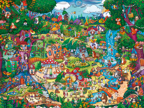 Berman: Wonderwoods - 1500pc Jigsaw Puzzle By Heye
