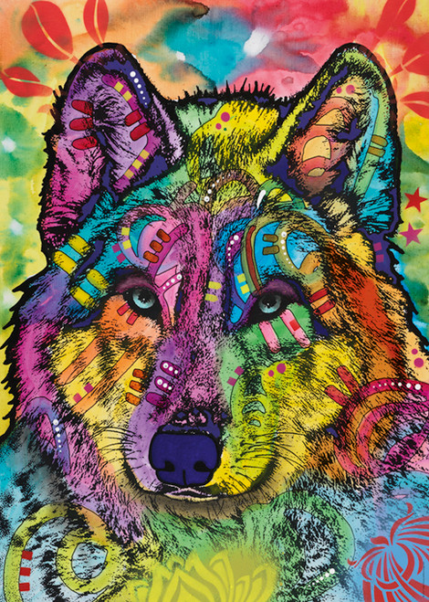 Wolf's Soul - 1000pc Jigsaw Puzzle By Heye