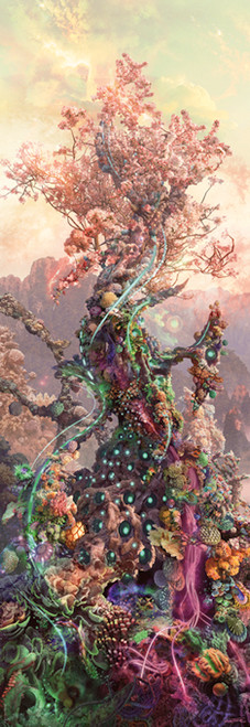 Phosphorus Tree - 1000pc Vertical Jigsaw Puzzle By Heye