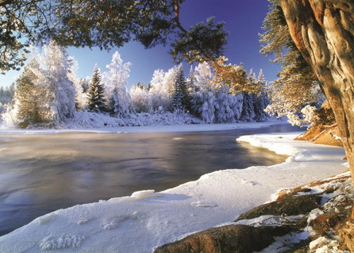 Dal River, Sweden - 1000pc Jigsaw Puzzle By Jumbo