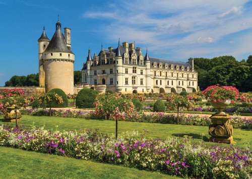 Castle in the Loire, France - 1000pc Jigsaw Puzzle By Jumbo