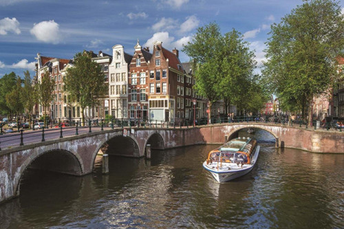 Herengracht, Amsterdam - 1500pc Jigsaw Puzzle By Jumbo