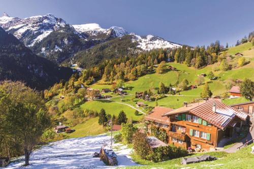 Berner Oberland, Switzerland - 1500pc Jigsaw Puzzle By Jumbo