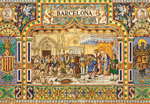 Tiles of Barcelona - 3000pc Jigsaw Puzzle By Jumbo