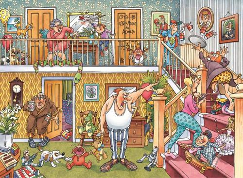 WASGIJ: Imagine 3, Slumber Party! - 1000pc Jigsaw Puzzle By Jumbo