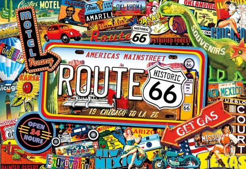 America's Main Street - 2000pc Jigsaw Puzzle by Buffalo Games