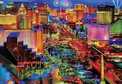 Viva Las Vegas - 2000pc Jigsaw Puzzle by Buffalo Games
