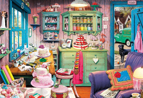 Cake Shed - 2000pc Jigsaw Puzzle by Buffalo Games