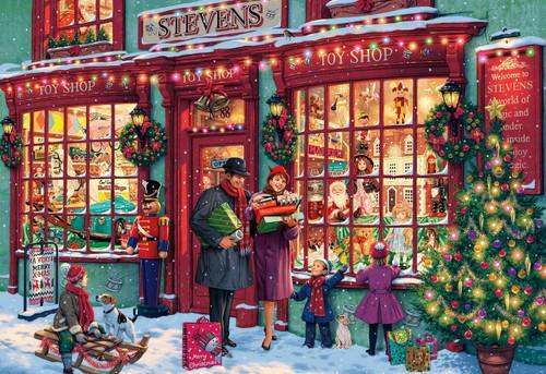 Christmas Toyshop - 2000pc Jigsaw Puzzle by Buffalo Games