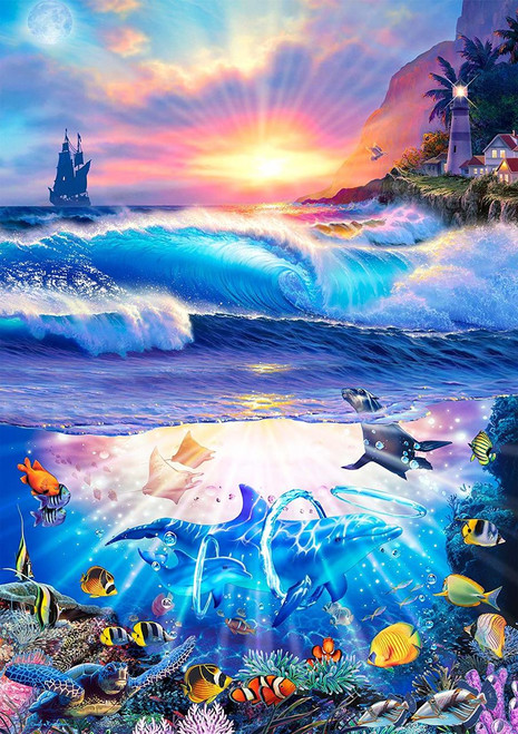 Coming Home - 300pc Large Format Jigsaw Puzzle By Buffalo Games