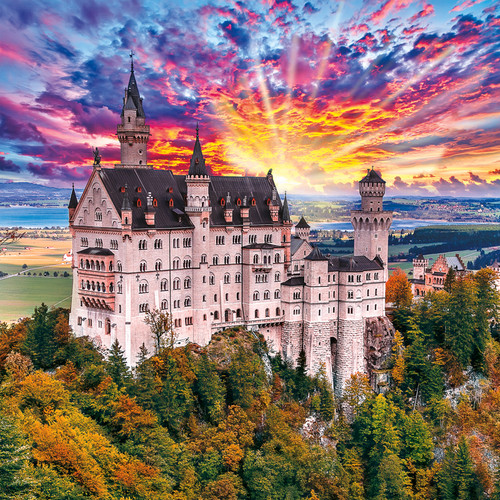 Fairy Tale Castle - 300pc Large Format Jigsaw Puzzle by Buffalo Games