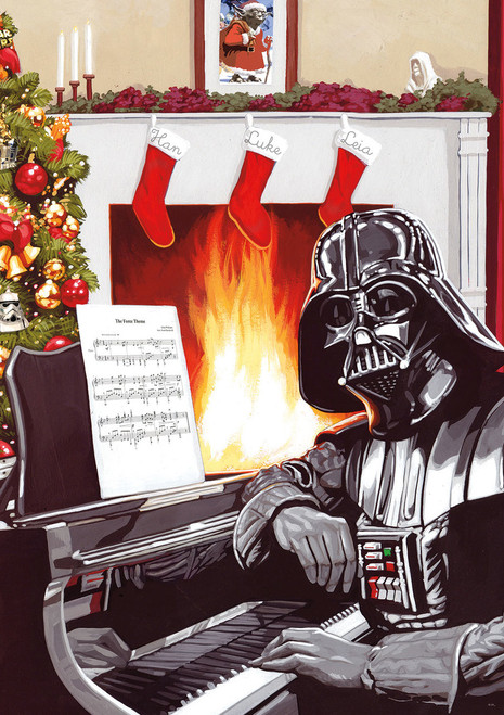 Star Wars™: A Very Vader Christmas - 300pc Large Format Jigsaw Puzzle by Buffalo Games