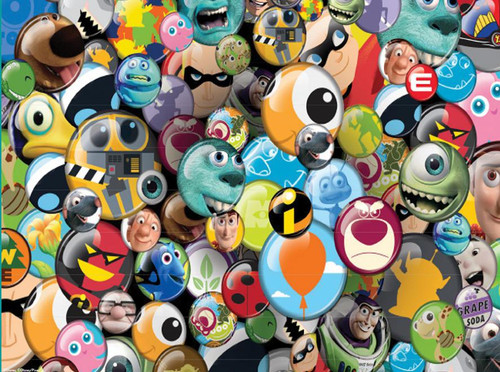 Disney: Pixar Buttons - 750pc Jigsaw Puzzle by Ceaco