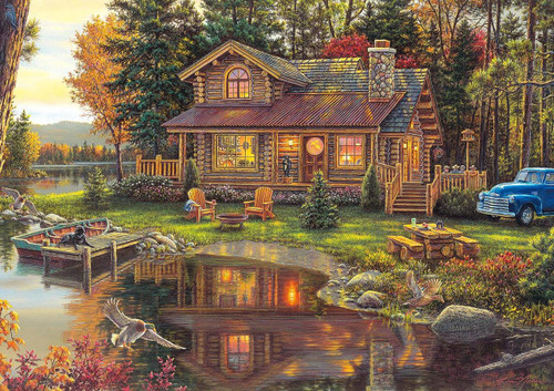 Peace Like a River - 300pc Large Format Jigsaw Puzzle By Buffalo Games