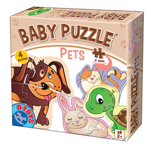 Pets - Baby Jigsaw Puzzle by D-Toys