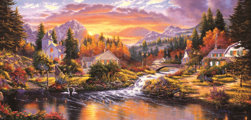 Morning Sunlight - 1000pc Jigsaw Puzzle By Sunsout