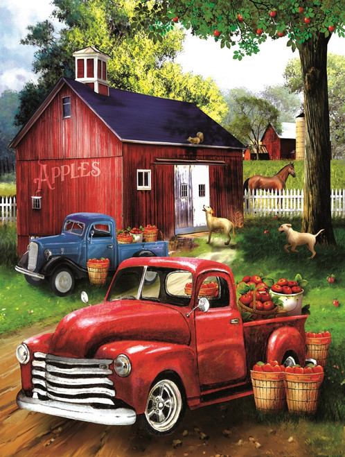 Apples for Sale - 300pc Jigsaw Puzzle By Sunsout