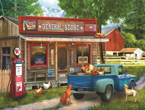 Morning Stop - 300pc Jigsaw Puzzle By Sunsout