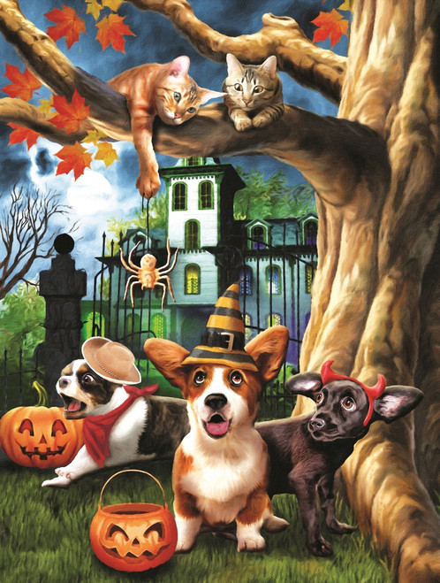 Halloween HiJinx - 300pc Jigsaw Puzzle By Sunsout