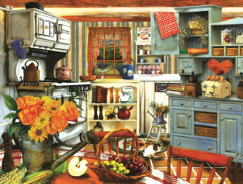 Grandma's Country Kitchen - 300pc Jigsaw Puzzle By Sunsout