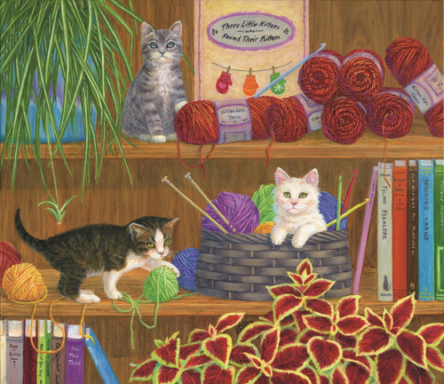 Mittens - 550pc Jigsaw Puzzle By Sunsout