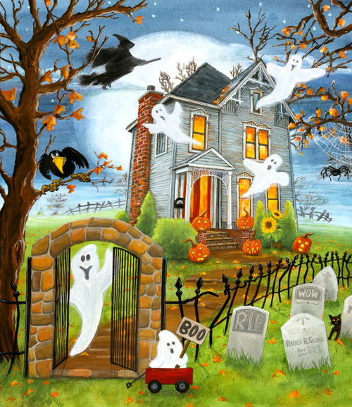 Haunted Haven - 300pc Jigsaw Puzzle By Sunsout