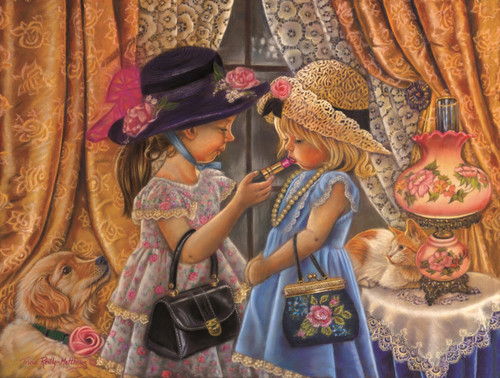 Playing Dress Up - 300pc Jigsaw Puzzle By Sunsout