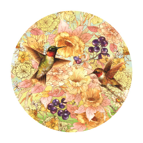 Hummingbirds and Berries - 1000pc Jigsaw Puzzle By Sunsout