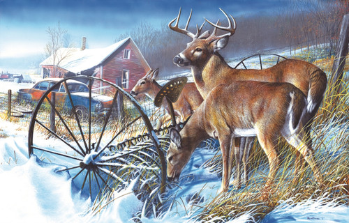 Snow Drifters - 500pc Jigsaw Puzzle By Sunsout
