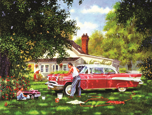 Wash Me - 300pc Jigsaw Puzzle By Sunsout