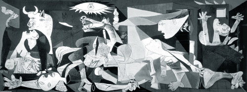 Educa Panoramic Jigsaw Puzzles - Guernica miniature jigsaw puzzle