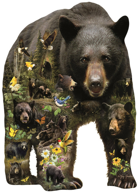 Forest Bear - 1000pc Jigsaw Puzzle By Sunsout