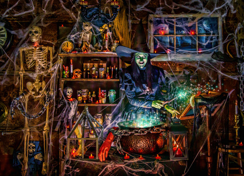 Witches Brew - 1000pc Jigsaw Puzzle by Vermont Christmas Company