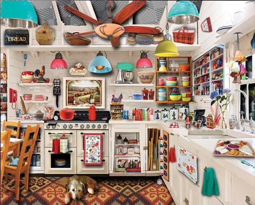 Retro Kitchen - 1000pc Jigsaw Puzzle by White Mountain