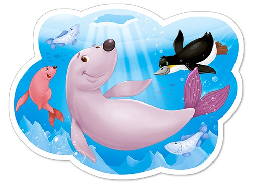 Life under the Arctic Ice - 15pc Jigsaw Puzzle By Castorland (discon-41873)
