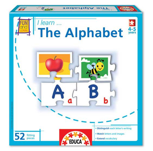 Alphabet Puzzle  I Learn