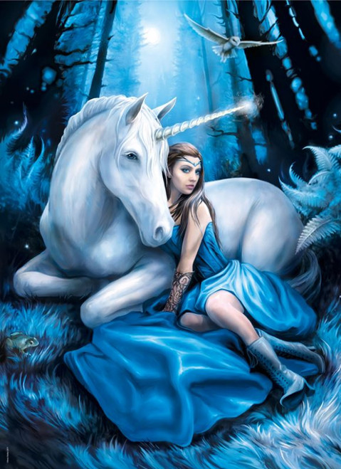 Stokes: Blue Moon - 1000pc Jigsaw Puzzle by Clementoni