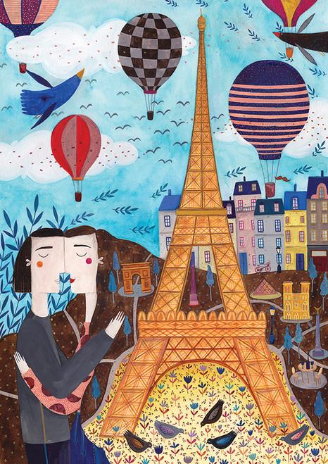 Andrea: Paris - 1000pc Jigsaw Puzzle By D-Toys