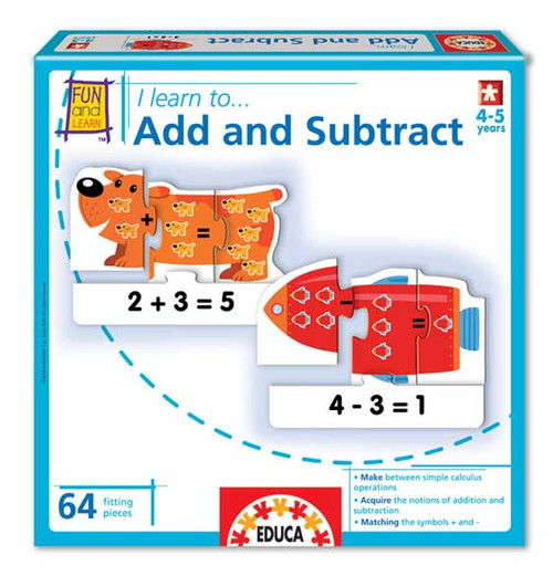 Educational Puzzles - I Learn: To Add and Subtract