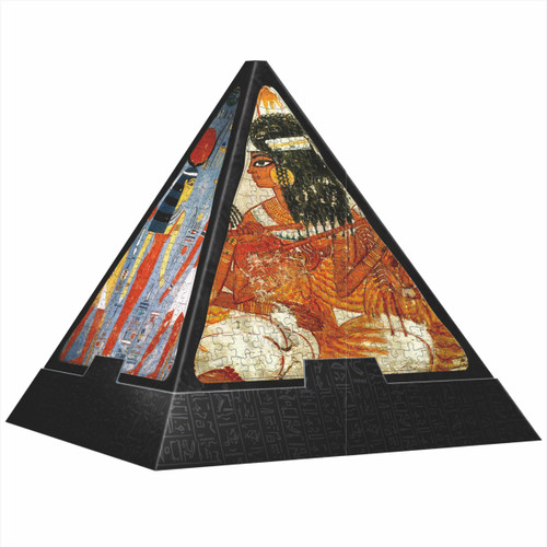 Egyptian Art - 1000pc Pyramid Jigsaw Puzzle By D-Toys