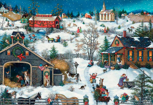 Christmas Memories - 500pc Jigsaw Puzzle by Lang