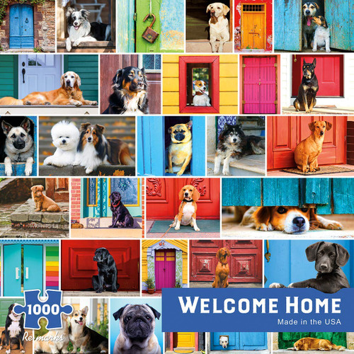 Welcome Home - 1000pc Jigsaw Puzzle By Re-marks