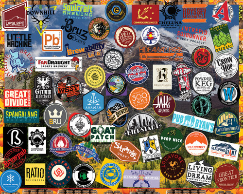 Colorado Beers - 1000pc Jigsaw Puzzle by White Mountain