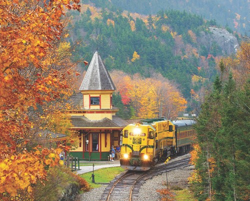 Scenic Railroad - 1000pc Jigsaw Puzzle by White Mountain